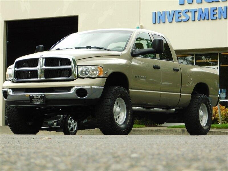 Cummins Turbo Diesel >> 2003 Dodge Ram 2500 Slt 4x4 5 9l Cummins Turbo Diesel Lifted