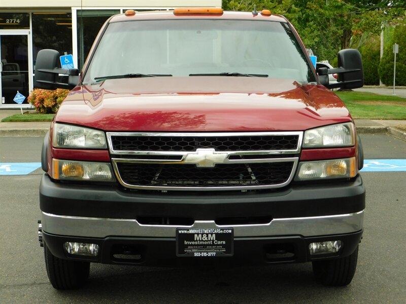 2006 Chevrolet Silverado 3500 LT Crew Cab 4X4 6 6L Duramax DUALLY 1-Owner  leathe