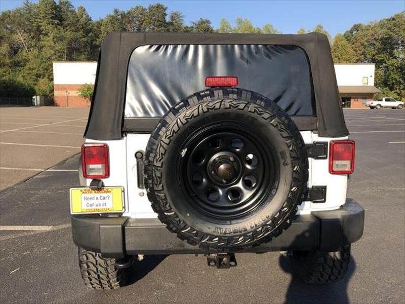 Jeep Wrangler 2012 price $17,299