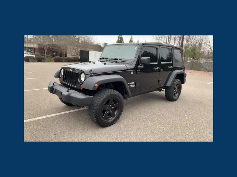 Jeep Wrangler Unlimited 2012 price $16,299