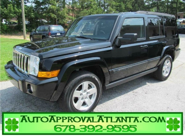 2008 Jeep Commander 4x4 3rd Row