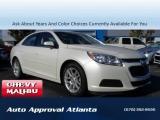 Chevrolet Malibu LT Mnroof Touchscreen 2015