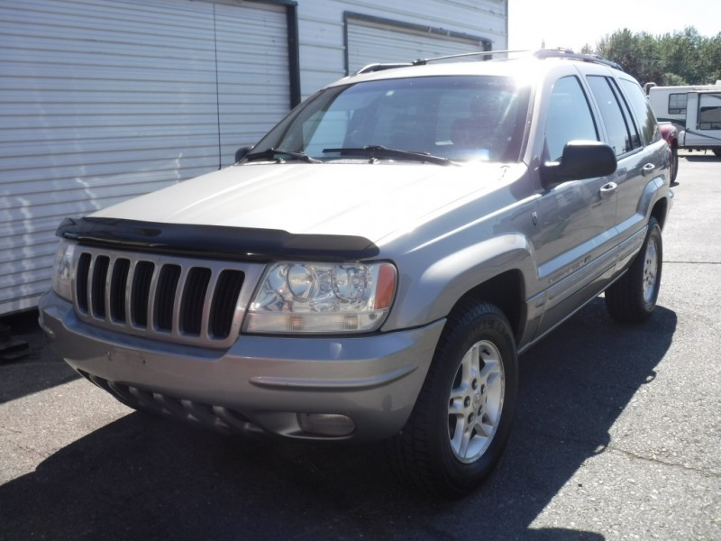 Jeep Grand Cherokee 2000 price sold