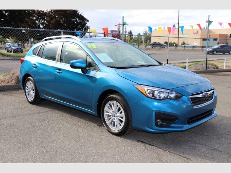 Subaru Impreza 2018 price $20,500
