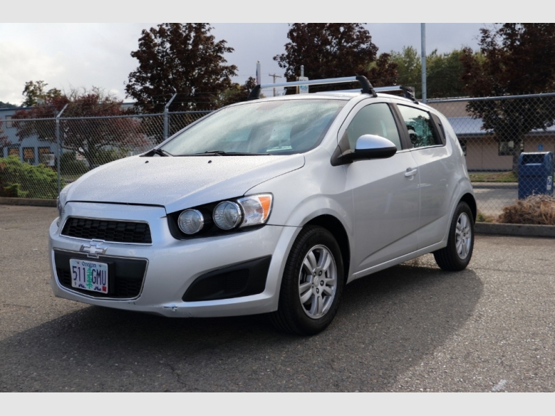 Chevrolet Sonic 2013 price sold