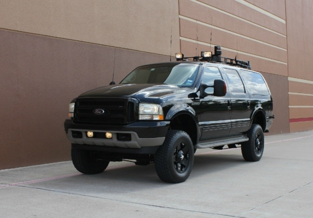 Ford Dealership Houston >> 2002 Ford Excursion 7.3L Limited 4WD Diesel 4x4 ...