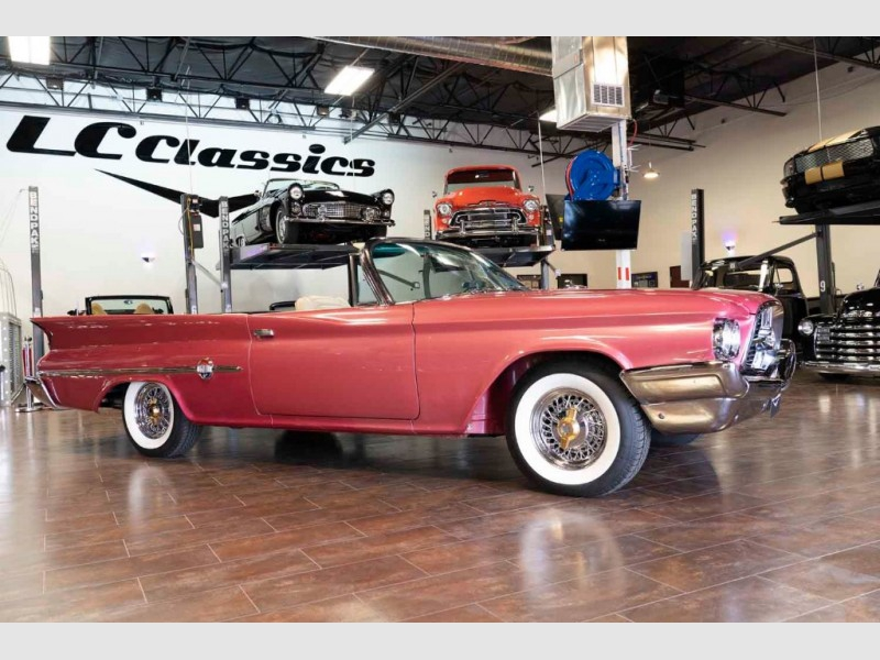 Chrysler 300F 1960 price Selling at Leake Auction