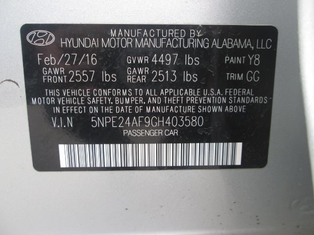 Hyundai Sonata 2016 price $15,950