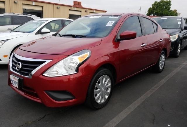 Nissan Versa 2016 price $6,450