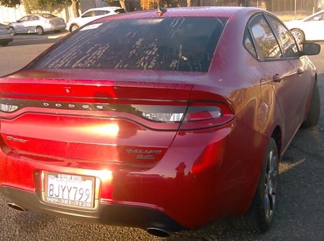 Dodge Dart 2014 price $4,650