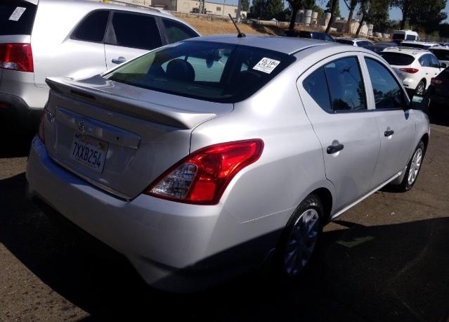Nissan Versa 2017 price $6,950