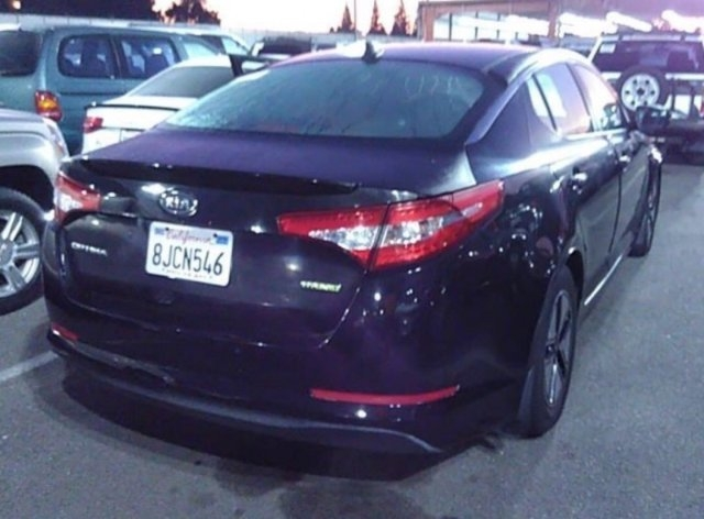 Kia Optima Hybrid 2011 price $5,250