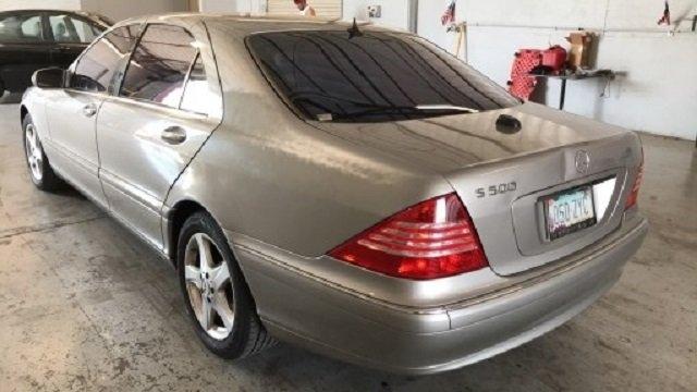 Mercedes-Benz S-Class 2005 price $2,600