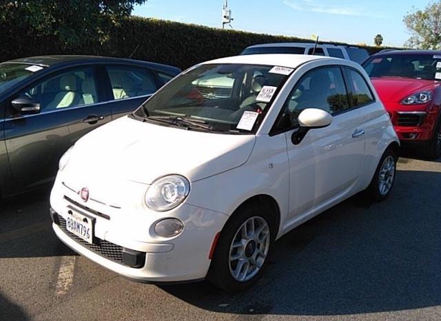 FIAT 500 2015 price $4,250
