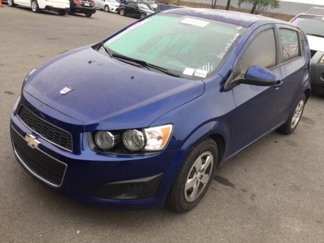 Chevrolet Sonic 2013 price $2,850