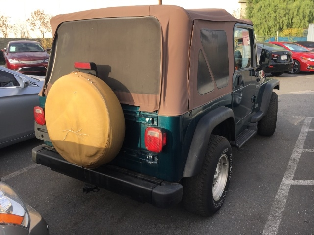 Jeep Wrangler 1998 price $3,250