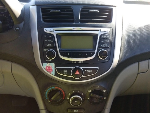 Hyundai Accent 2012 price $3,450