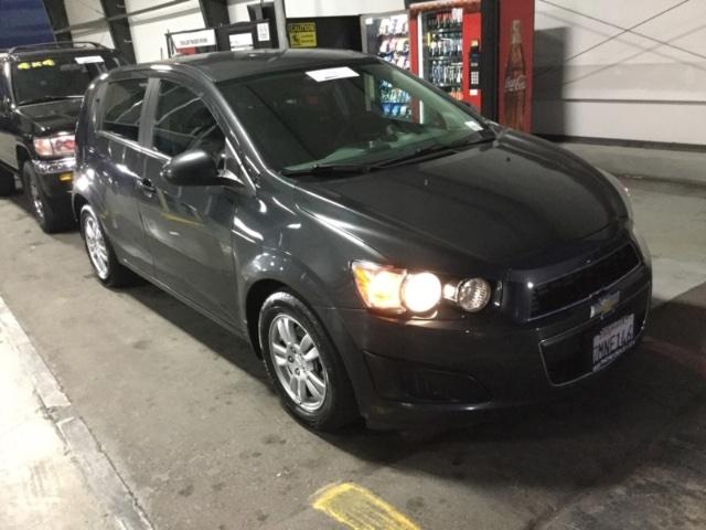 Chevrolet Sonic 2015 price $5,150