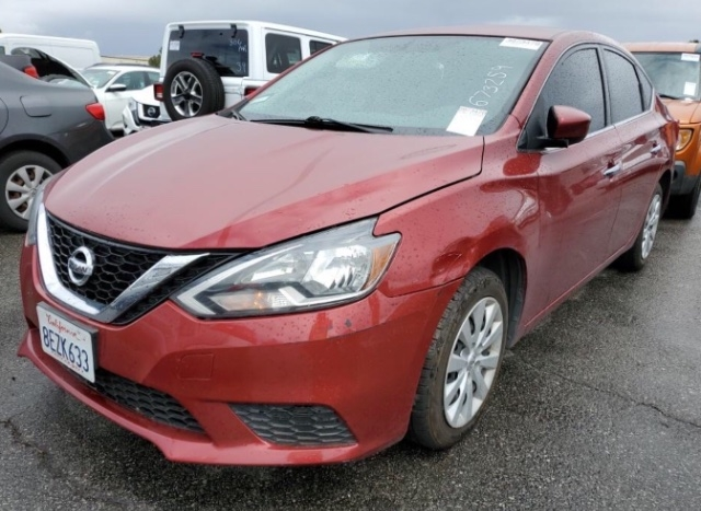 Nissan Sentra 2017 price $7,950