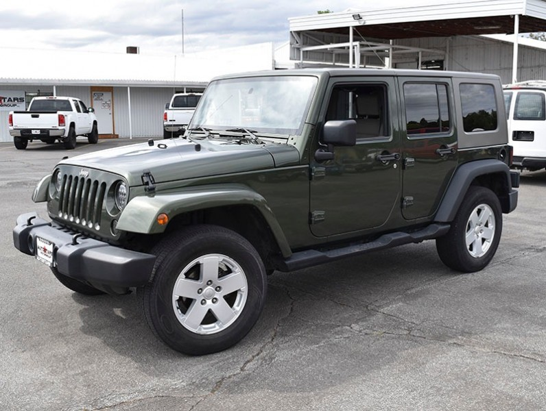 Jeep Wrangler 2007 price $13,500