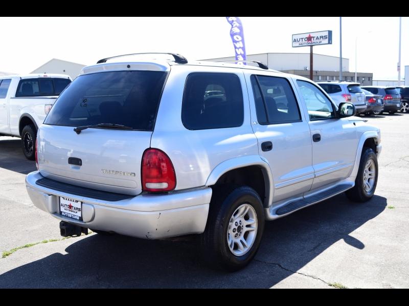 Dodge Durango 2002 price $2,999
