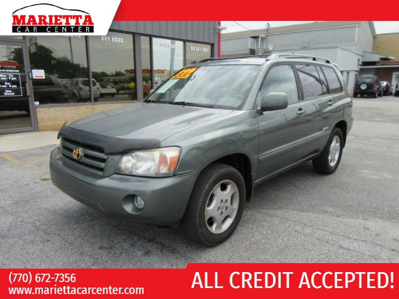 Toyota Highlander 2006 price $999 Down