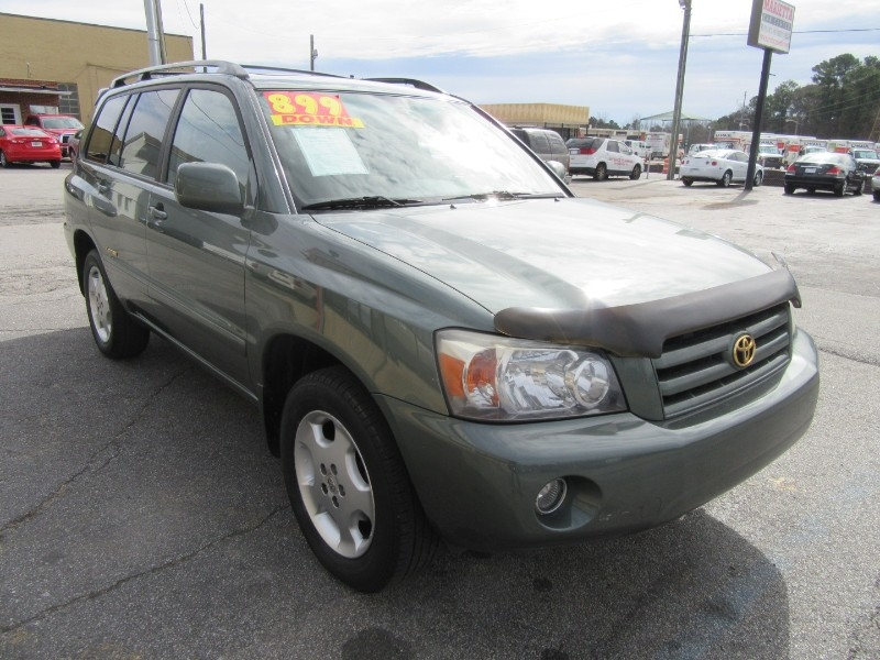 Toyota Highlander 2006 price $1,199 Down