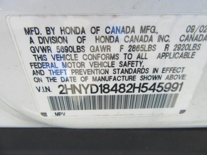 Acura MDX 2002 price $3,700