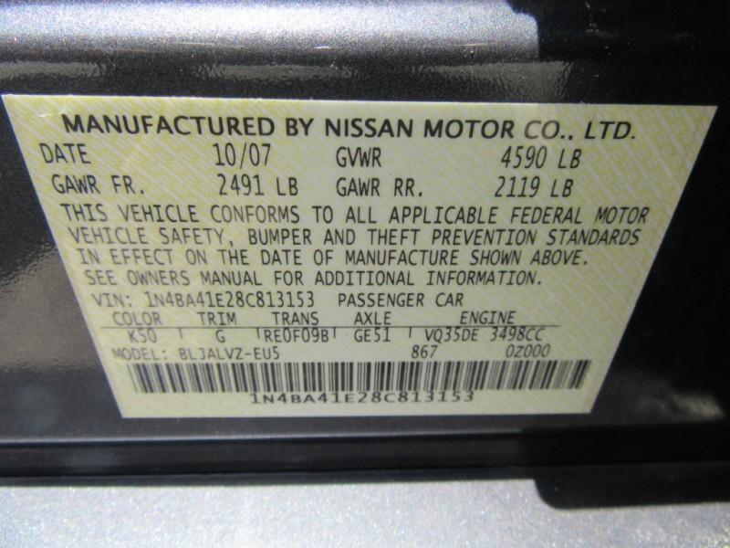 Nissan Maxima 2008 price $799 Down