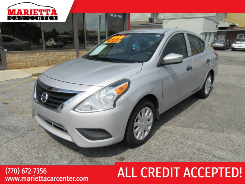 Nissan Versa 2016 price $999 Down
