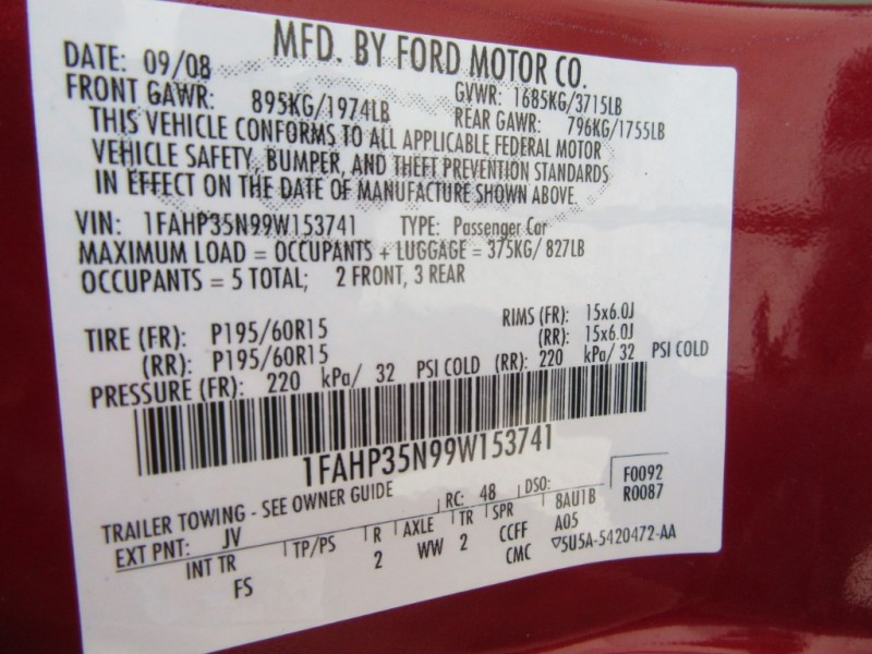 Ford Focus 2009 price $499 Down