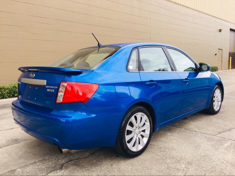 Subaru Impreza Sedan WRX 2008 price $10,495