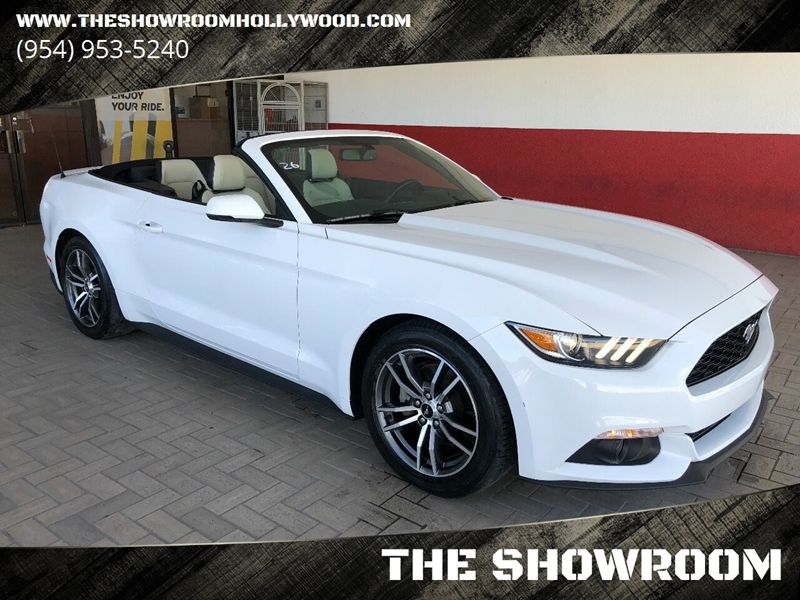 2017 Ford Mustang Ecoboost Premium >> 2017 Ford Mustang Ecoboost Premium 2dr Convertible