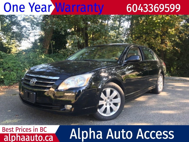 Toyota Avalon 2006 price $8,800