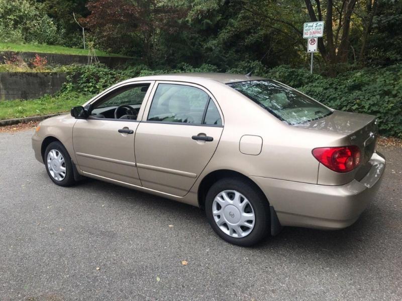 Toyota Corolla 2005 price $5,500