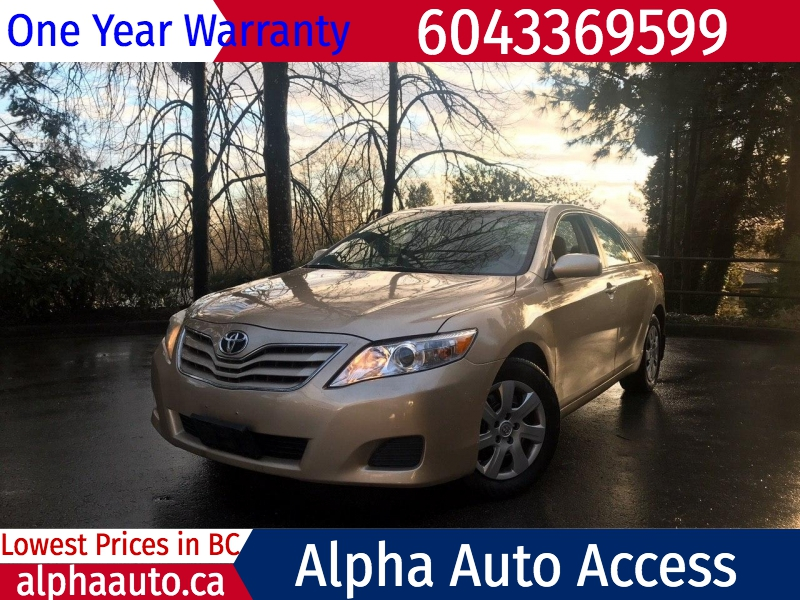 Toyota Camry 2010 price $6,800