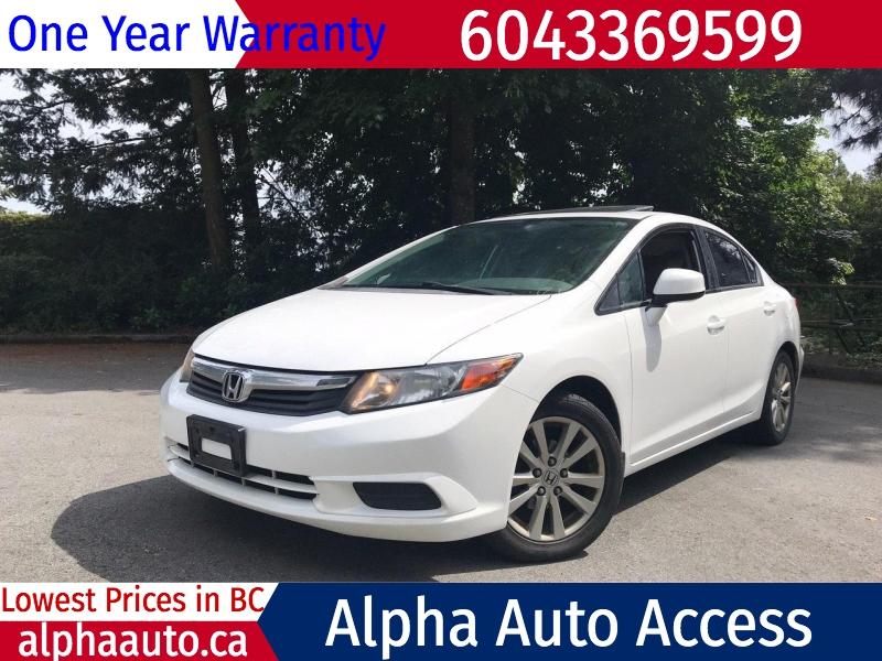 Honda Civic 2012 price $8,500