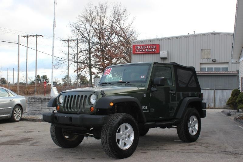 Jeep Wrangler 2008 price $7,999
