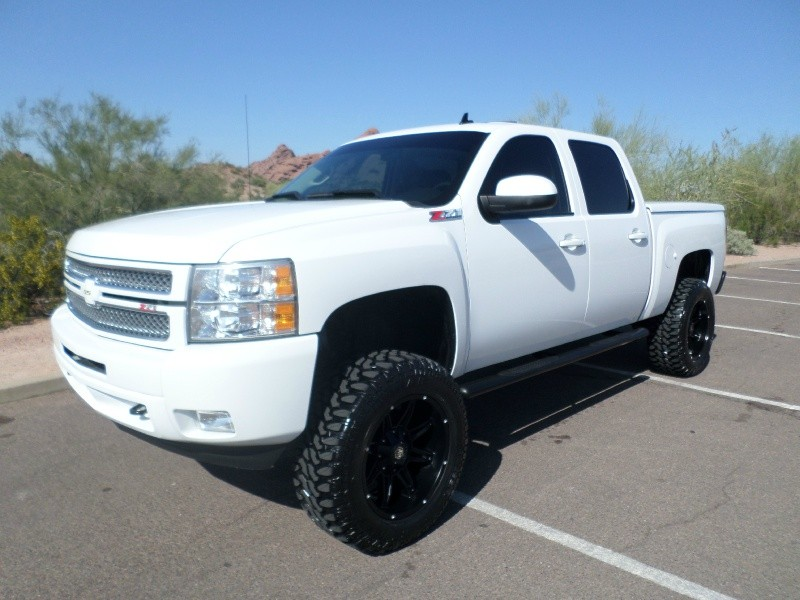 2012 Chevrolet Silverado 1500 Crew Cab >> 2012 Chevrolet Silverado 1500 4wd Crew Cab Shorty Ltz Ss New Lift Wheels Tires