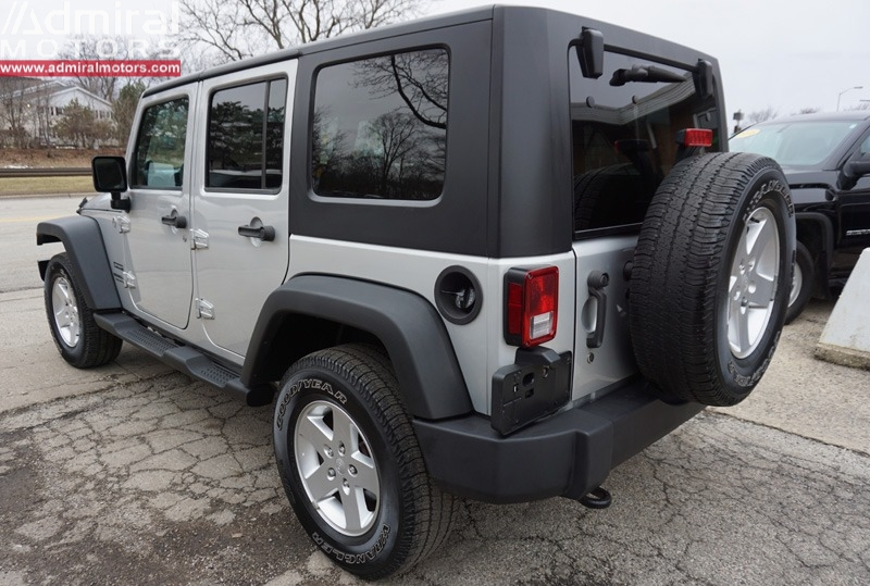 Jeep Wrangler Unlimited 2010 price $14,700