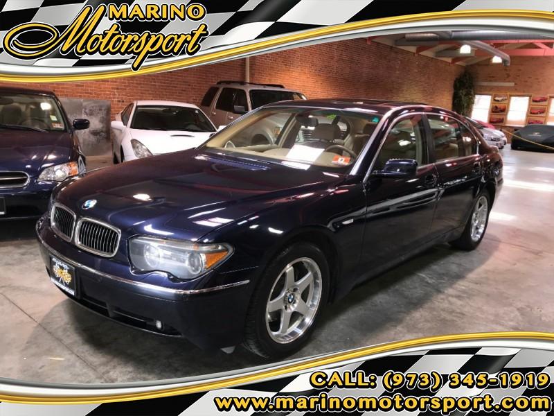 BMW 7-Series 2003 price $5,000