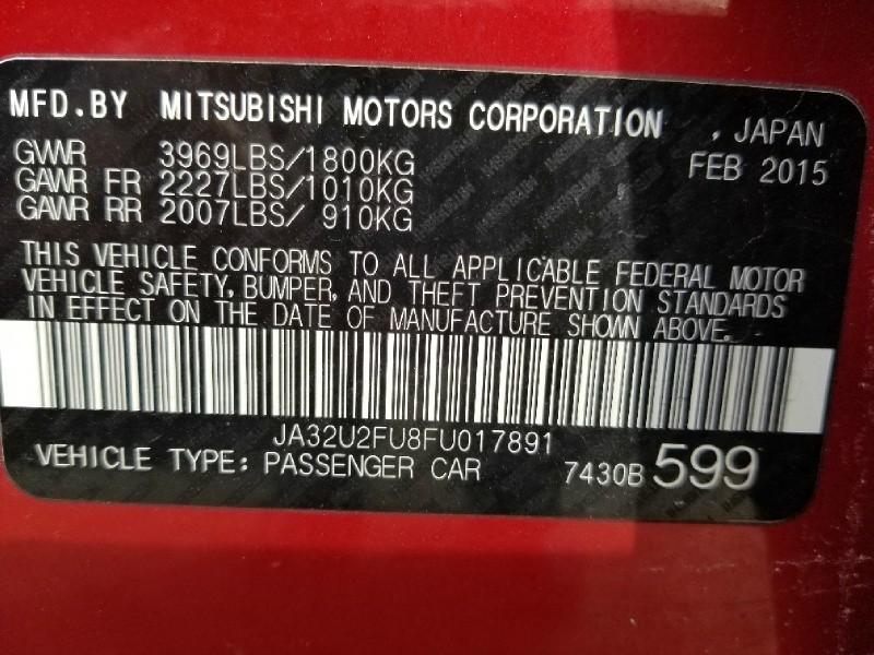 Mitsubishi Lancer 2015 price $7,995