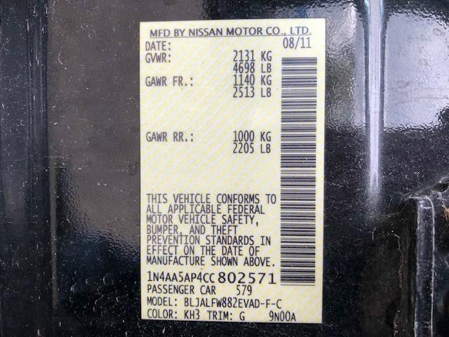 Nissan Maxima 2012 price $8,500