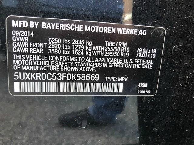 BMW X5 2015 price $23,800