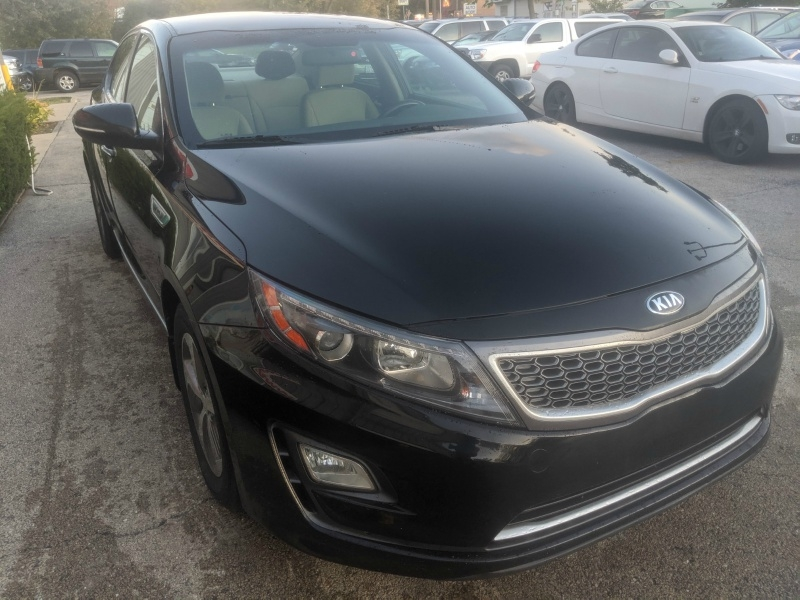 Kia Optima Hybrid 2015 price $9,950