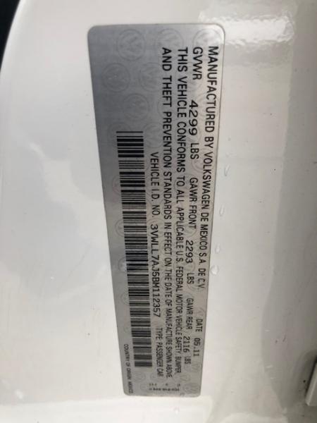 Volkswagen Jetta Sedan 2011 price $4,999