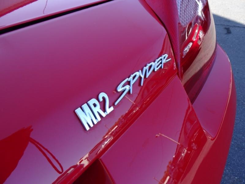 Toyota MR2 Spyder 2001 price