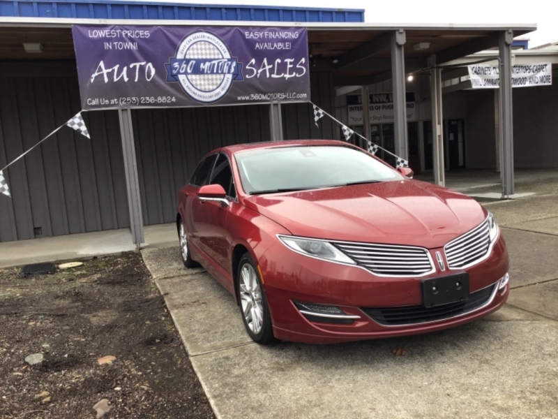 Lincoln MKZ 2014 price $15,700