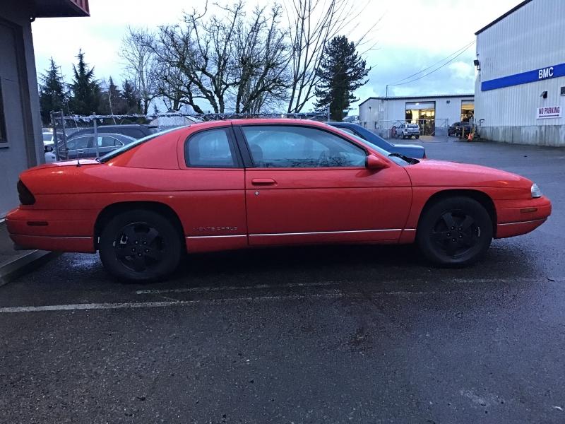 Chevrolet Monte Carlo 1998 price $1,600