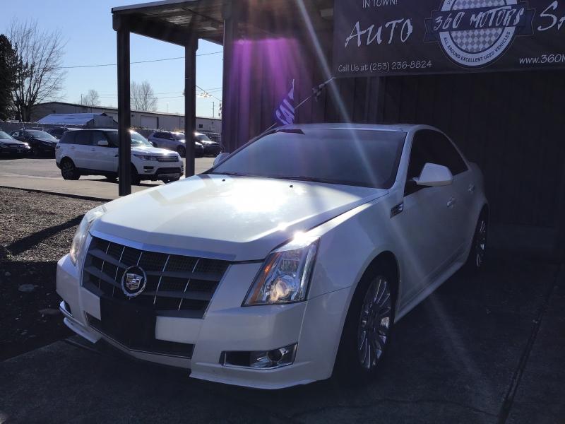 Cadillac CTS Sedan 2010 price $7,199